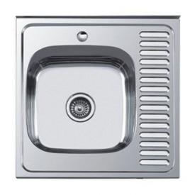 Мойка накладная Platinum 60x60