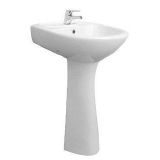 Умывальник Рио-50 в классической форме 50 см белый