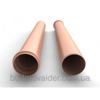 Труба ПВХ Мпласт 110x3,2 мм 6 м