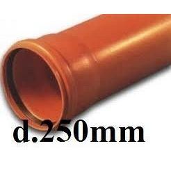 Труба ПВХ 250*4,9 мм(3000 мм)