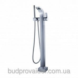 Смеситель напольный с ручным душем UKR-06018 CH