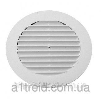Решетка наклонена круглая, D 125 мм (12РК) (Россия)