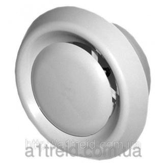 Анемостат, приточно-витяжной, регулируемый, с фланцем, ABS, D 125 мм (12,5АПВП) Анемостат, приточно-витяжний, регульований, з фланцем, ABS, D 125 мм