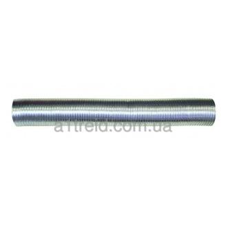 Воздуховод, алюминиевый гофрированный, 80мкм, D 130 мм, L 3 м (13ВА) Повітровод, алюмінієвий гофрований, 80мкм, D 130 мм, L 3 м (13ВА)