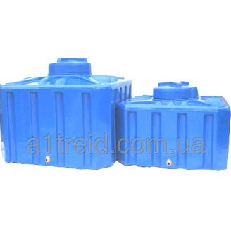 Емкость квадратная 200 литров 70 х 70 х 56 1-слойная