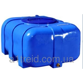 Емкость овальная 100 литров 76х52х37 2-слойная