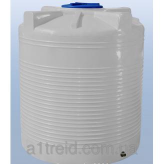 Емкость 1500 литров вертикальная однослойная