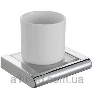 Стакан для зубных щеток одинарный полированный Haceka Dude Хасека Диде