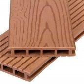 Террасная доска Polymer&Wood Premium 25x150x2200 мм мербау