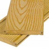 Террасная доска Polymer&Wood Massive 20x150x2200 мм дуб
