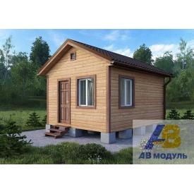 Строительство сборного дачного домика