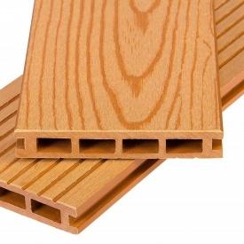 Террасная доска Polymer&Wood Premium 25x150x2200 мм бади