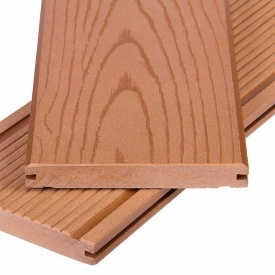 Террасная доска Polymer&Wood Massive 20x150x2200 мм мербау