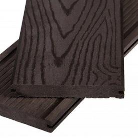 Террасная доска Polymer&Wood Massive 20x150x2200 мм венге