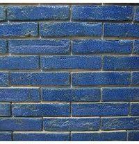 Клинкерный кирпич ручной формовки St.Joris Z14 210x100x50 мм синий