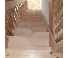 Изготовление лестницы утиный шаг
