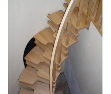 Изготовление компактной деревянной лестницы