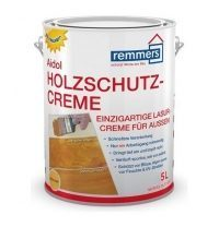 Защитная лазурь REMMERS Aidol Holzschutz-Creme 5 л silbergrau