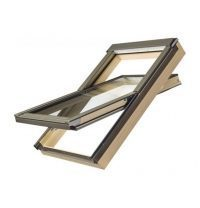 Мансардне вікно FAKRO PTP-V/PI U3 обертальне вологостійке 78x118 см