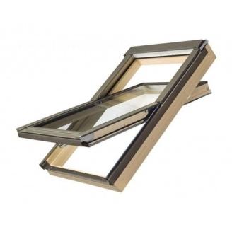 Мансардное окно FAKRO PTP-V/PI U3 вращательное влагостойкое 114x118 см