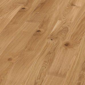 Паркетная доска BOEN Plank однополосная Дуб Vivo небрашированная 2200х209х14 мм масло