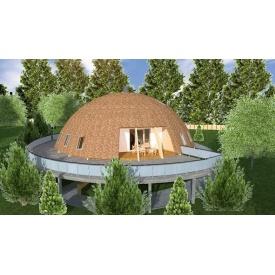Будівництво каркасного будинку ТК_Купол
