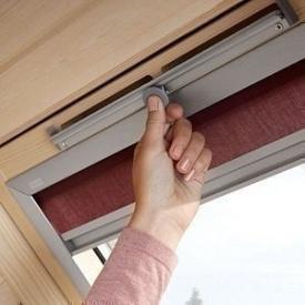 Мансардное деревянное окно VELUX OPTIMA Стандарт GZR 3050B CR04 550х980 мм