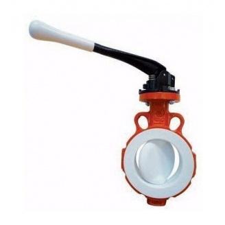 Затвор дисковий ABO valve тип 599В з ручкою Ду80 Ру10