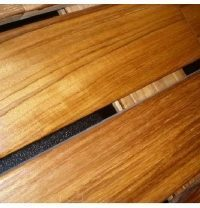 Террасная доска Real Deck Индонезийский тик 20х120 мм
