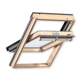 Мансардное окно VELUX PREMIUM GGL 3070 FK04 деревянное классическое 660х980 мм