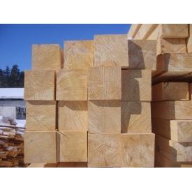 Брус строительный обрезной 150x150x4500 мм