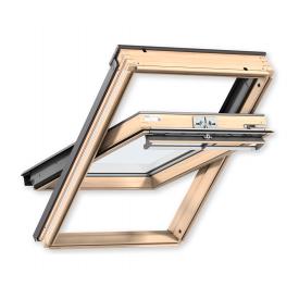 Мансардне вікно VELUX PREMIUM GGL 3066 CK04 дерев'яне екстра тепле 550х980 мм