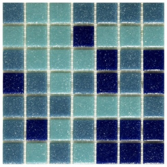 Мозаїка скляна Stella di Mare R-MOS A323537 на сітці 327x327x4 мм