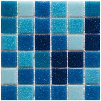 Мозаїка скляна Stella di Mare R-MOS B3132333537 на сітці 327x327x4 мм