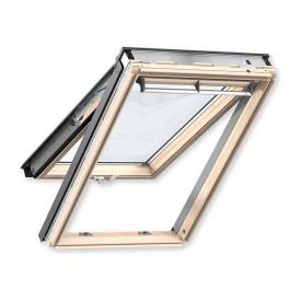 Мансардное окно VELUX PREMIUM GPL 3070 MK08 деревянное панорамное 780х1400 мм