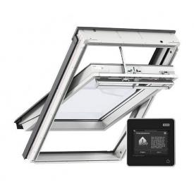 Мансардное окно VELUX Премиум INTEGRA GGU 006621 FK04 влагостойкое электро управляемое 660х980 мм