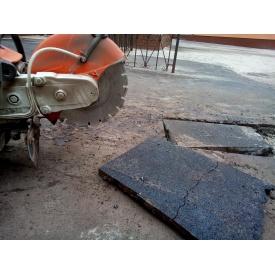 Демонтаж асфальту за допомогою спецтехніки