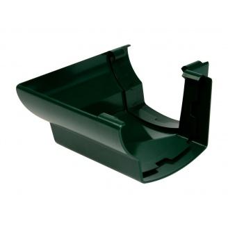 Кут ринви 90° зовнішній Nicoll 28 OVATION 125 мм зелений