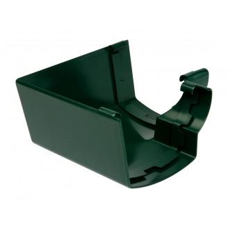 Кут ринви 90° внутрішній Nicoll 28 OVATION 125 мм зелений