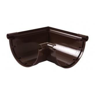 Угол желоба универсальный 90° Nicoll 33 170 мм коричневый
