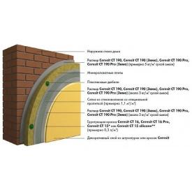 Фасадная система утепления Ceresit