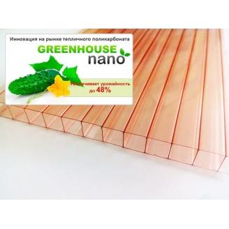 Поликарбонат тепличный Greenhouse NANO 6 мм 2,1х6 м