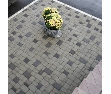 Тротуарная плитка  Старый город 40 мм черная