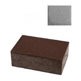 Тротуарна плитка ЮНІГРАН Моноліт 240х160х80 мм сірий класік