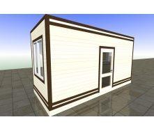 Малая архитектурная форма торгово-бытовая 2,5х6 м