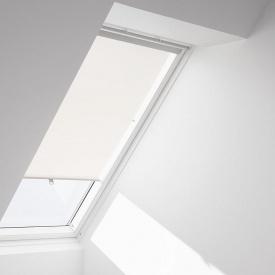 Рулонная штора VELUX RHL S06 на крючках 114х118 см