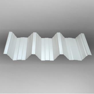 Профнастил Тайл НС-90 негатив полиэстер 985х90х1 мм RAL 9010