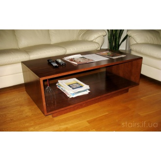 Журнальный столик деревянный 120х60х45 см