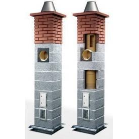 Дымоходная система Icopal Wulkan СI 140-eko 6,2 м