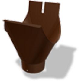 Воронка для накладного желоба PREFA 80 мм